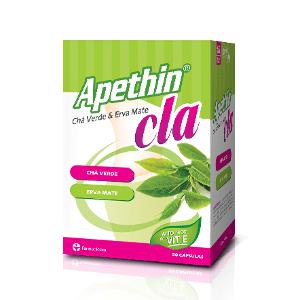 Apethin® CLA + Chá Verde & Erva Mate 50 cápsulas