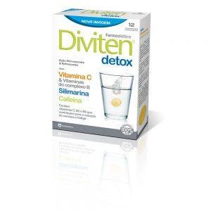 Diviten® Detox 12 comprimidos efervecentes