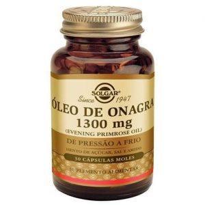 Solgar Óleo de Onagra 1300mg 30 cápsulas moles