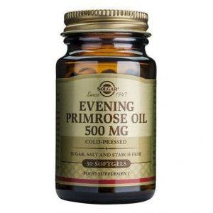 Solgar Evening Primrose Oil 500mg 30-180 cápsulas moles