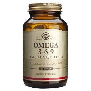 Solgar Omega 3-6-9 60 cápsulas moles