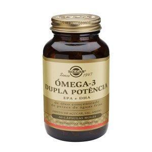 Solgar Omega-3 Dupla Potência 60-120 cápsulas moles