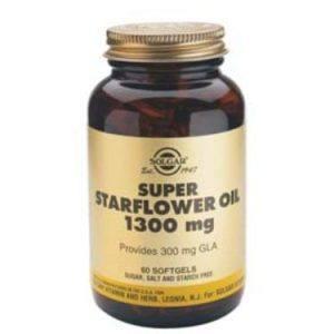 Solgar Super Starflower Oil 1300mg 60 cápsulas moles