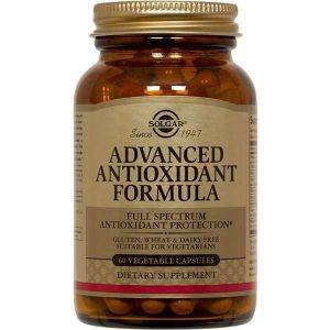 Solgar Advanced Antioxidant Formula 60 cápsulas