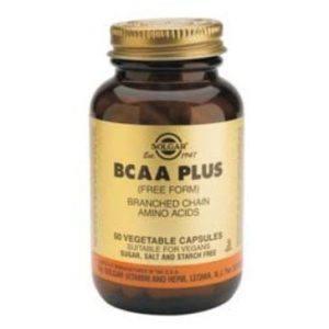 Solgar BCAA Plus 50 cápsulas