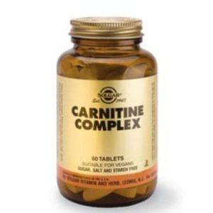 Solgar Carnitine Complex 60 comprimidos