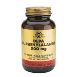 Solgar DLPA Dl-Phenylalanine 500mg 50 cápsulas