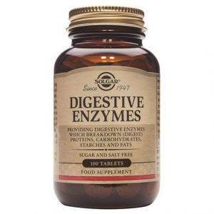 Solgar Digestive Enzymes 100-250 comprimidos