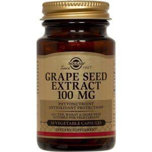 Solgar Grape Seed Extract 100mg 30 cápsulas