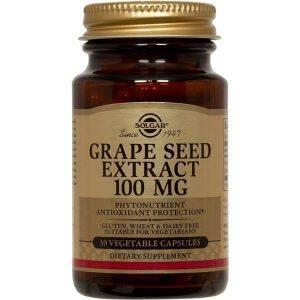 Solgar Grape Seed Extract 100mg 30 cápsulas