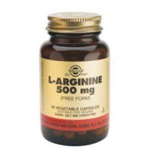 Solgar L-Arginine 500mg 50 cápsulas