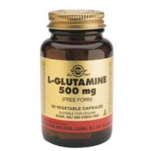Solgar L-Glutamine 500mg 50 cápsulas