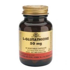 Solgar L-Glutathione 50mg 30 cápsulas
