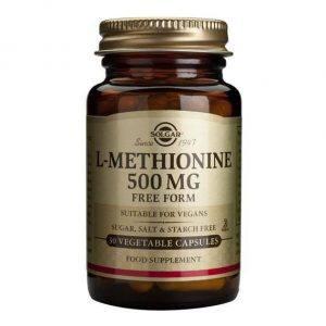 Solgar L-Methionine 500mg 30 cápsulas