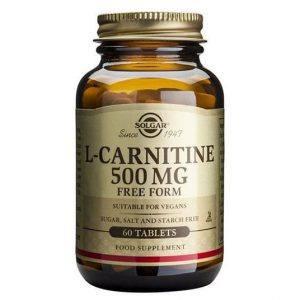 Solgar L-Carnitine 500mg 60 comprimidos