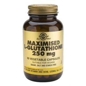 Solgar Maximised L-Glutathione 250mg 60 cápsulas
