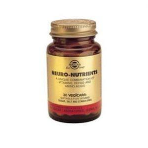 Solgar Neuro Nutrientes 30-60 cápsulas