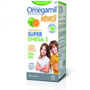 Omegamil® Infantil Sabor Laranja Lima Super Ómega 3 100ml
