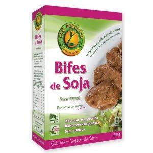 Cem Porcento Bifes de Soja Sabor Natural 250g
