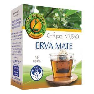 Chá de infusão de Erva Mate 10 saquetas