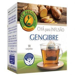 Chá de infusão de Gengibre 10 saquetas