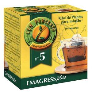 Chá nº 5 – Emagress Plus 10 saquetas