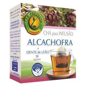 Chá de infusão de Alcachofra e Dente-de-Leão 10 saquetas