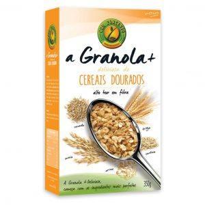 Granola+ Deliciosa Cereais Dourado 350g
