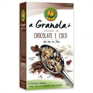 Granola+ Deliciosa Chocolate e Coco 350g