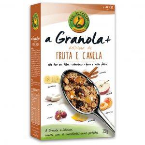 Granola+ Deliciosa Fruta e Canela 350g
