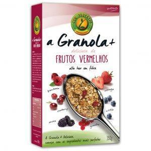 Granola+ Deliciosa Frutos Vermelhos 350g
