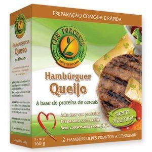 Cem Porcento Hambúrguer de Queijo 160g