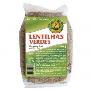 Cem Porcento Lentilhas Verdes 500g