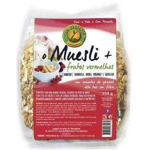 O Muesli + Frutos Vermelhos 350g