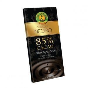 Cem Porcento Chocolate Negro 85% Cacau 100g