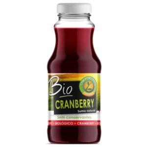 Cem Porcento Sumo Bio Cranberry 200ml