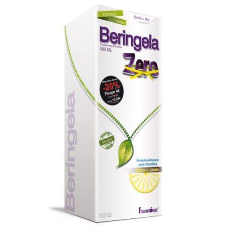 Beringela Zero - Sabor a limão 500 ml