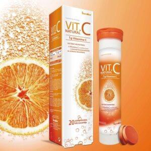 Vit. C Natural Fharmonat 1000mg 20 comprimidos