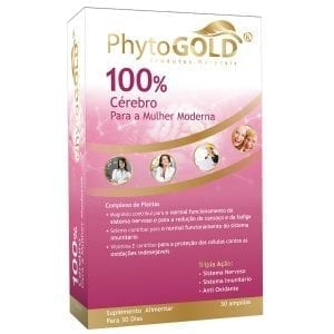 Phytogold® 100% Cérebro para a Mulher Moderna 30 ampolas