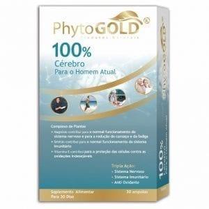 Phytogold®100% Cérebro para o Homem Atual 30 ampolas