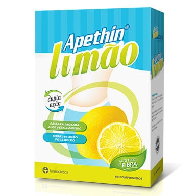 Apethin® Limão 60 comprimidos