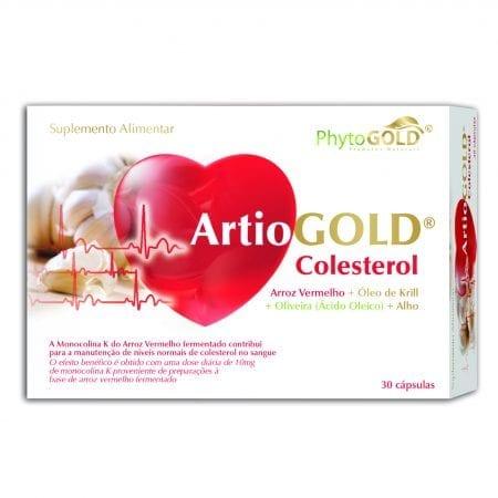 ArtioGOLD Colesterol 30 cápsulas