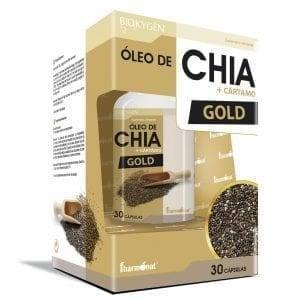 Biokygen® Óleo de Chia + Cártamo Gold 30 cápsulas
