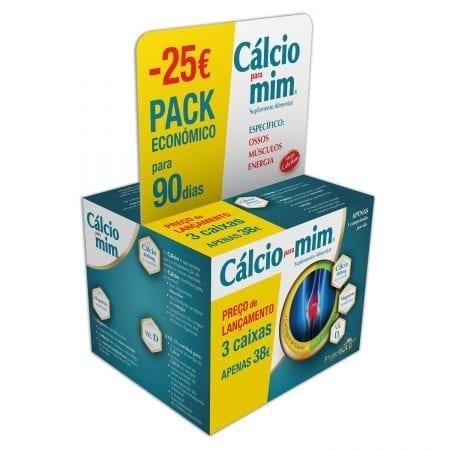 Cálcio para mim Pack Económico para 90 dias