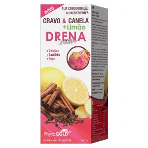 Phytogold Cravo & Canela + Limão Drena Muito+ 500ml