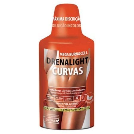Drenalight Curvas Mega Burn & Cell 600ml