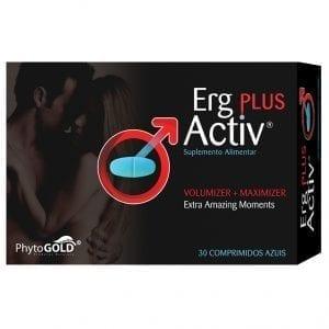 Erg-Activ Plus 30 comprimidos azuis