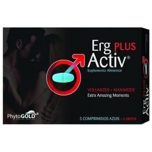 Erg-Activ Plus 5 comprimidos azuis + 5 grátis