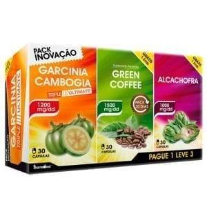 Garcinia Triple Ultimate Fharmonat 3×30 cápsulas – Leve 3 Pague 1