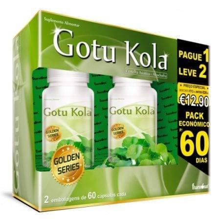 Gotu Kola (Leve 2 Pague 1) 2x60 cápsulas